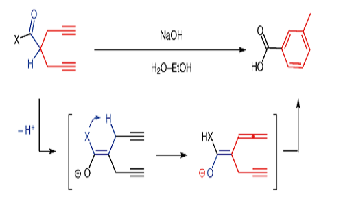 Base-Induced Cyclization